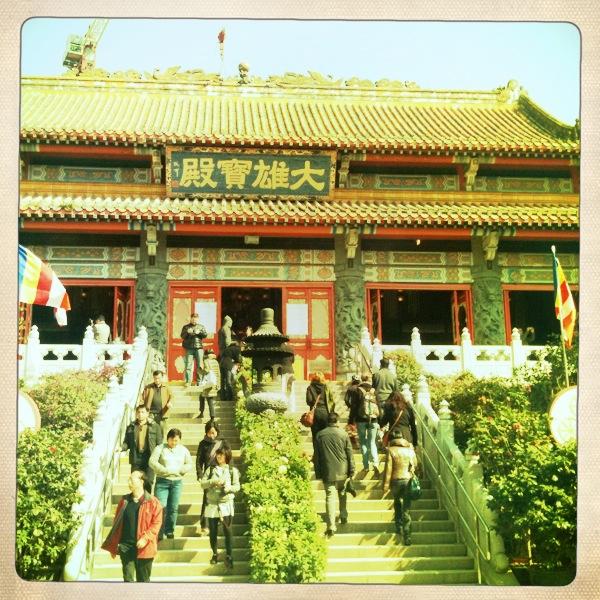 asiatisk buddistisk tempel